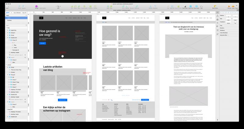 Grafisch webdesign