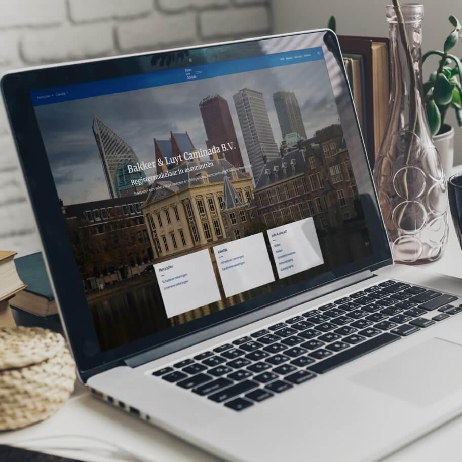 Assurantiekantoor website ontwerp en ontwikkeling