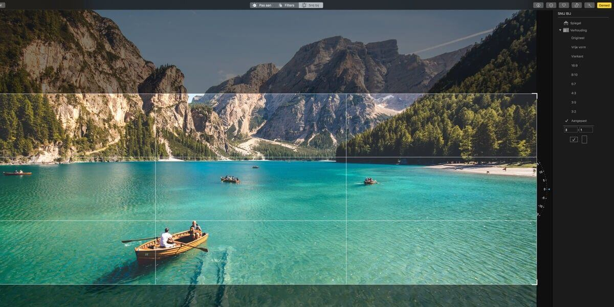 Afbeeldingen en aspect ratio's op het responsive web