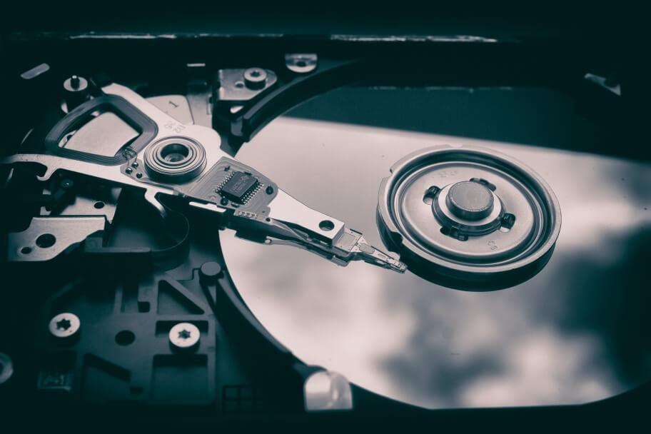 Hosting - hard disk