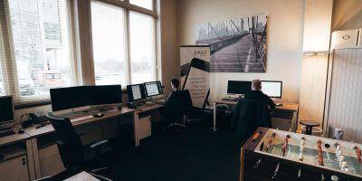 Op kantoor