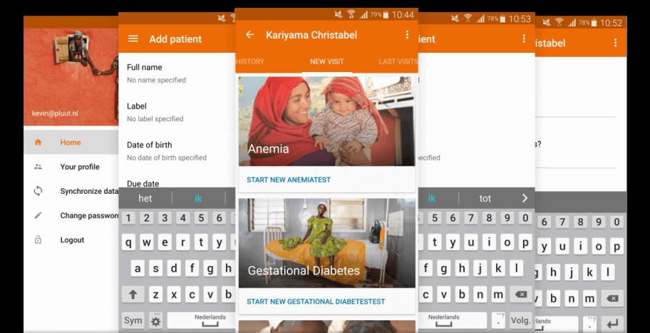 Android app voor Simavi
