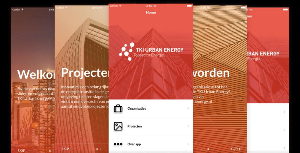iOS app weergave RVO app