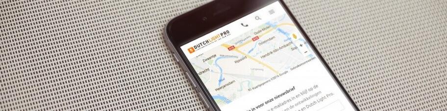 Alle websites die wij ontwikkelen zijn geoptimaliseerd voor mobiele apparaten.