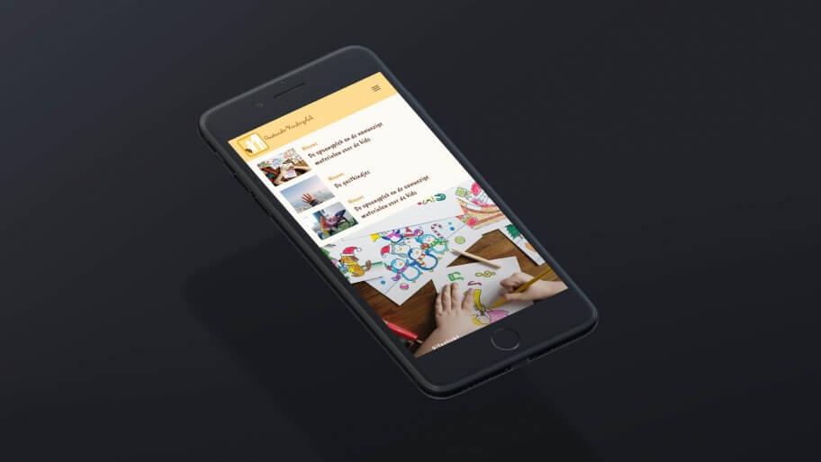 Gastouder website ontwerp en ontwikkeling
