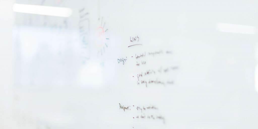 Notities maken bij whiteboard