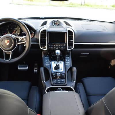 Porsche interieur